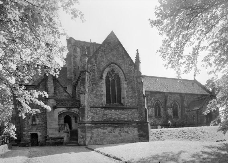 View of Inchinnan Old Parish Church from N.