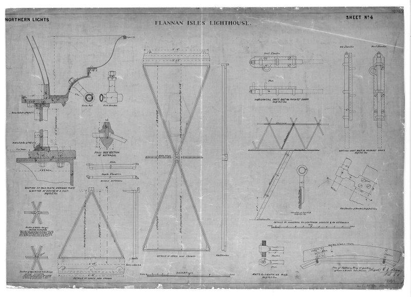 External details of lantern.