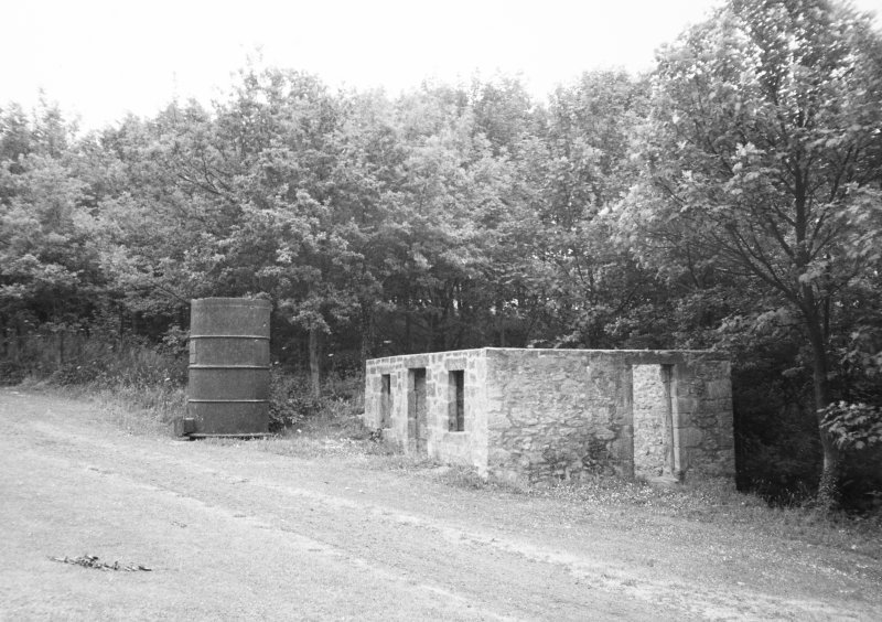 General view of James Watt's Cottage and Boiler.