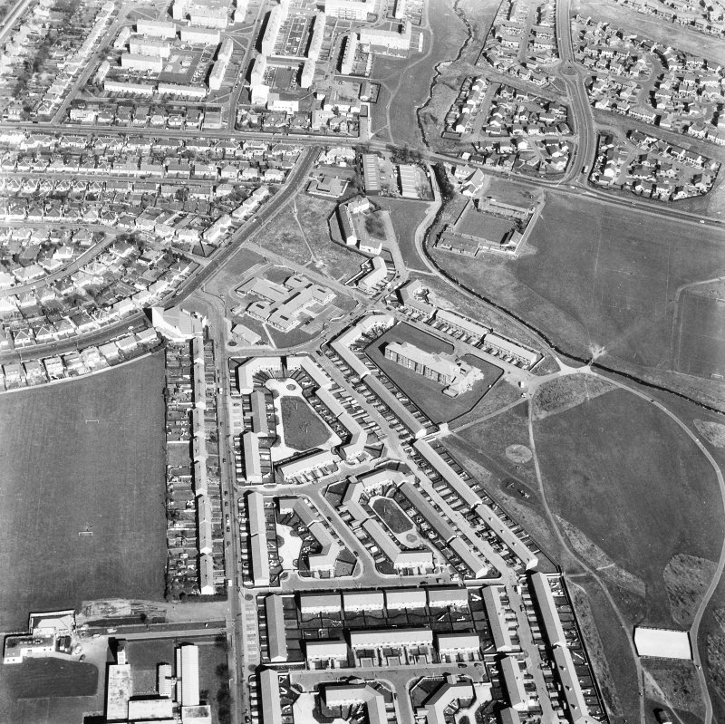 Edinburgh, Bingham. General aerial view.