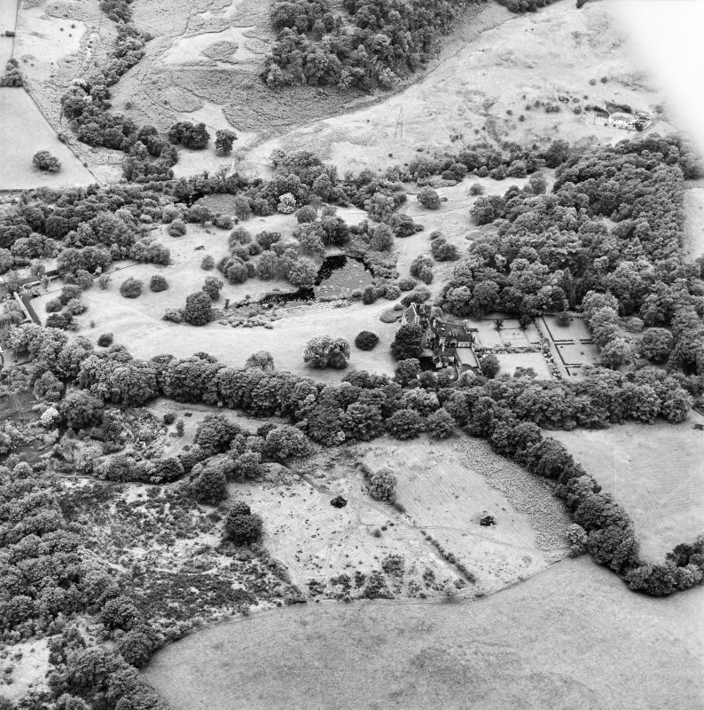 Formakin, oblique aerial view, taken from the ENE, centred onFormakin House.