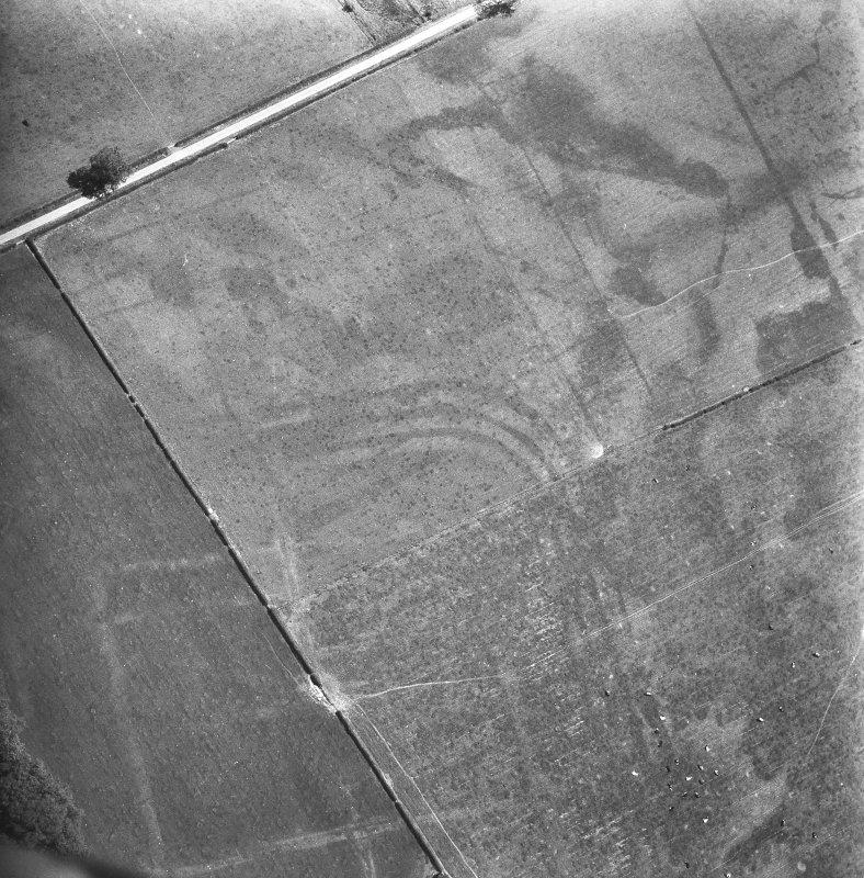 Oblique aerial view