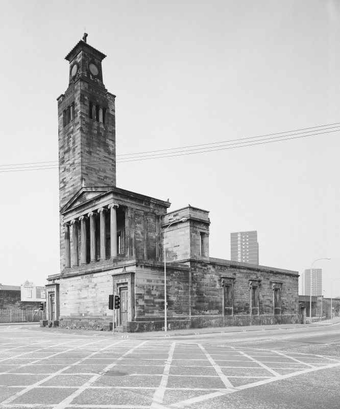 Glasgow, 1 Caledonia Road, Caledonia Road Church. General view from South East