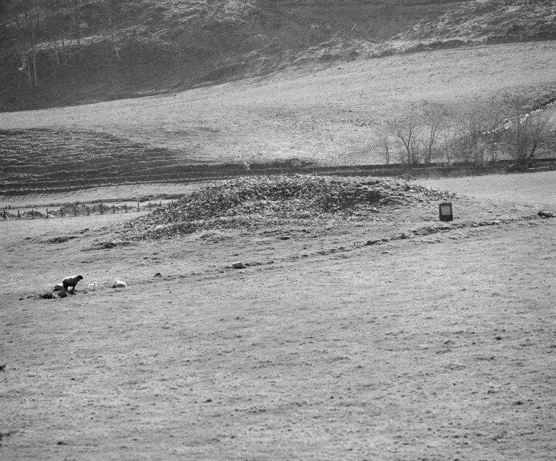 Kilmartin Glebe Cairn, from NE