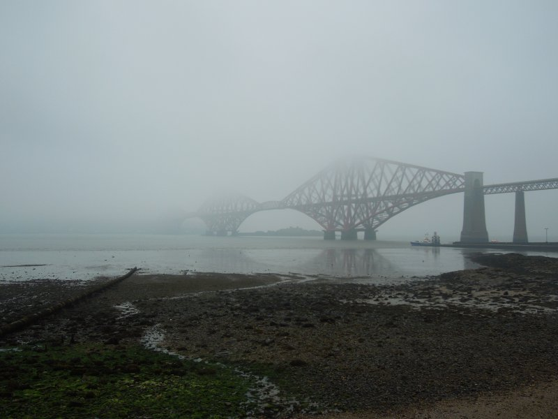 Forth Bridge in Haar 2016