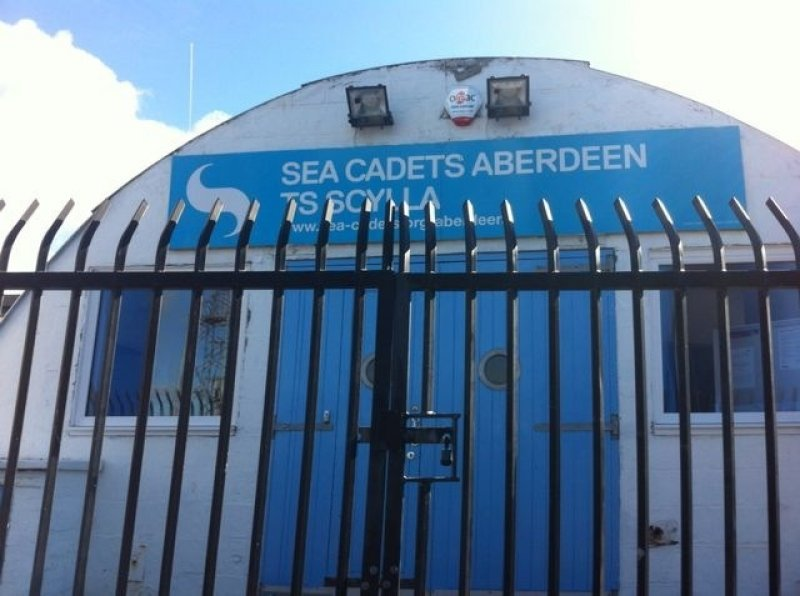 18/6/17- Since 1954 this site has been the training ground and Headquarters of the Aberdeen Sea Cadets.