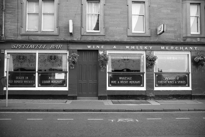 The Speedwell Bar, Perth Rd, Dundee.
