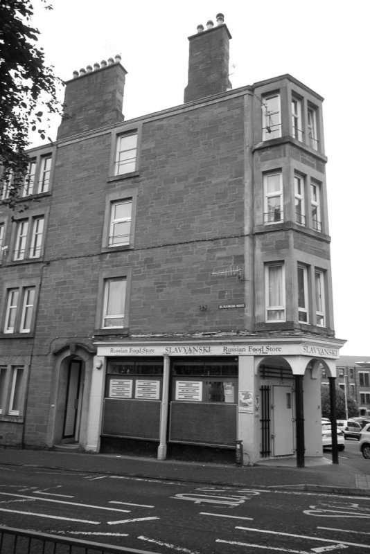 Tenement block at 234 - 236 Blackness Road, Dundee.