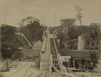 Forth Bridge Works: Incline from staging, No.43