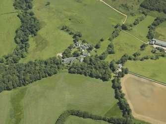 General oblique aerial view centred on the village, taken from the W.