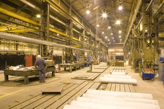 Interior. Main shop floor. Bay 4