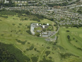 Oblique aerial view centred on the observatory, taken from the S.