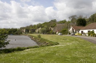Limekilns, general view from E