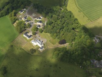 Oblique aerial view of Craig House, taken from the SE.
