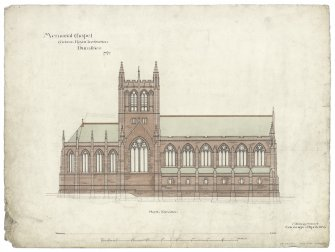 Crichton Memorial Church. North elevation.