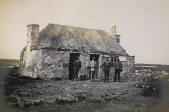 View of Creagory telegraph office, Benbecula
