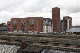General view from SE over foundry rooftops towards Banbury Building