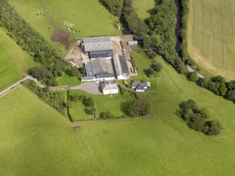 Oblique aerial view of Ross Mains, taken from the S.