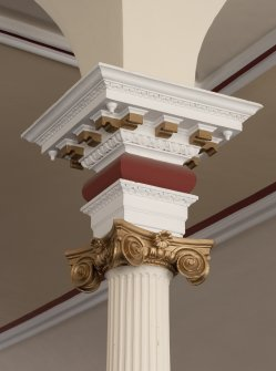 Detail of column capital.