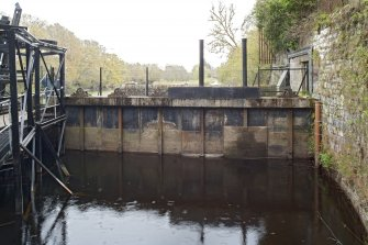 Sluice gates, view from north west