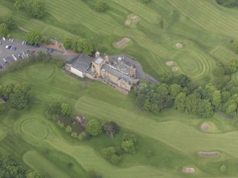 Oblique aerial view of Preston Grange Club House, taken from the SE.
