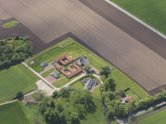 Oblique aerial view of Sydserf House, taken from the NE.
