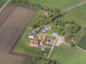 Oblique aerial view of Sydserf House, taken from the SE.