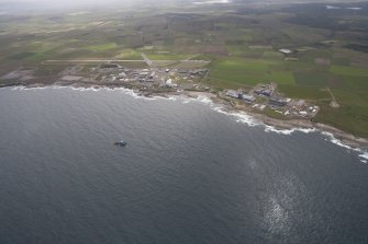 General oblique view of Dounreay Nuclear Power Development Establishment, looking to the SE.