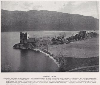 View of Urquhart Castle from the South