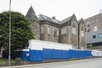 General view of Old Kirk of Edinburgh and Church Hall, 37 Holyrood Road, Edinburgh, from SE.