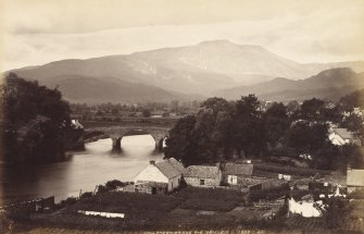 General view of Callander Bridge from east.