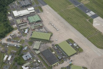 Leuchars Airfield, Technical Site, Type C Hangars | Canmore