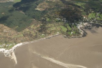 Oblique aerial view of Rockcliffe, looking ENE.