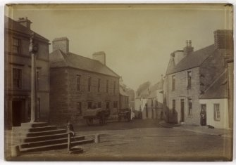 View of the market cross, Doune.