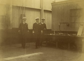 R.A. Pears, King George V and Engineer Captain Emdin