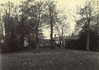 General view of stables, The Peel, Busby.