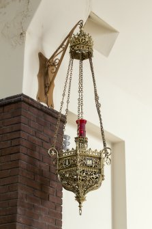 Detail of sanctuary (eternal flame) lamp.