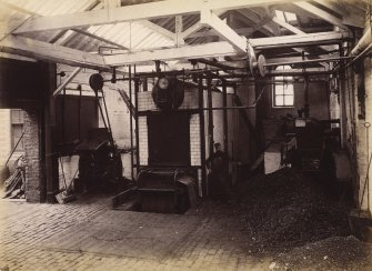 Interior view of boiler house at Duncan, Flockhart & Co's, Edinburgh.