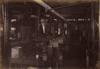 Interior view of laboratory at Duncan, Flockhart & Co's, Edinburgh.