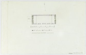 Survey drawing; plan