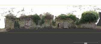 Linked image to Illus A1.1: N wall elevation, external associated with Historic Building Record at Old Parish Church, Kinfauns