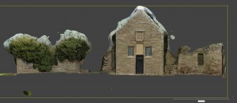 Linked image to Illus A1.4: S wall elevation, external associated with Historic Building Record at Old Parish Church, Kinfauns