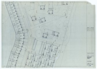 Galashiels, Langlee estate, housing development. Type E, drainage layouts.