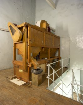 Interior. Central Range. Mill House. Porteus malt mill.