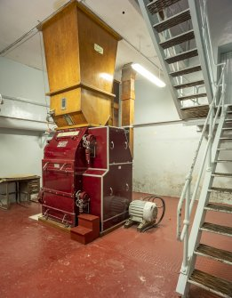 Interior. Central Range. Mill Room. Porteus Malt Mill