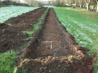 Archaeological evaluation, Trench 1 Post-Excavation, Site 624, Borders Railway Project