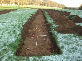 Archaeological evaluation, Trench 2 Post-Excavation, Site 624, Borders Railway Project