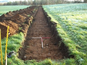 Archaeological evaluation, Trench 3 Post-Excavation, Site 624, Borders Railway Project
