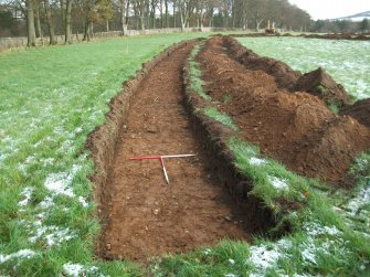 Archaeological evaluation, Trench 4 Post-Excavation, Site 624, Borders Railway Project