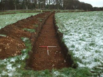 Archaeological evaluation, Trench 5 Post-Excavation, Site 624, Borders Railway Project